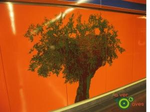 Túnel del metro (Avenida de la Paz)