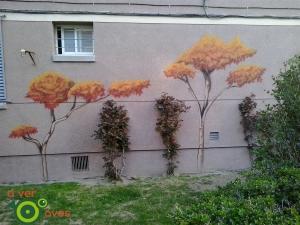 Jardines de la calle Maqueda, en el barrio de Aluche