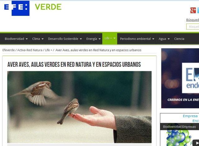 Agencia EFE – EFE Verde: Aulas verdes urbanas