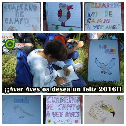 Feliz 2016 os desea Aver Aves